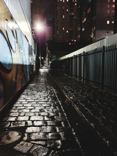 city laneway