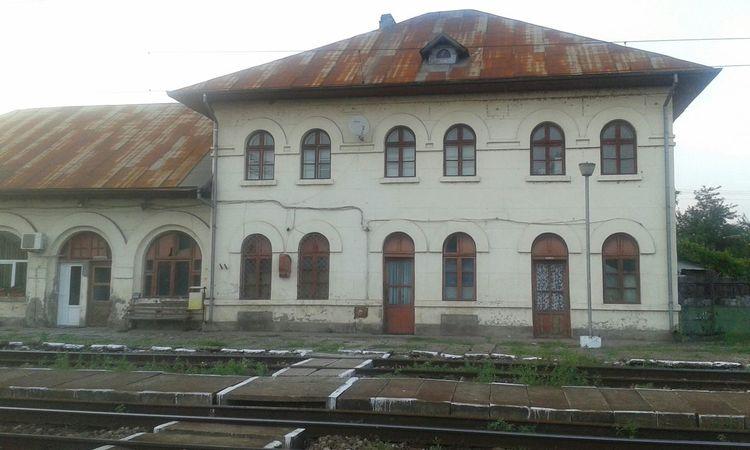 Old railwaystation