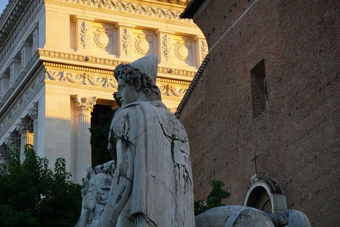 Roma Capitoline Dawn Michaelangelo