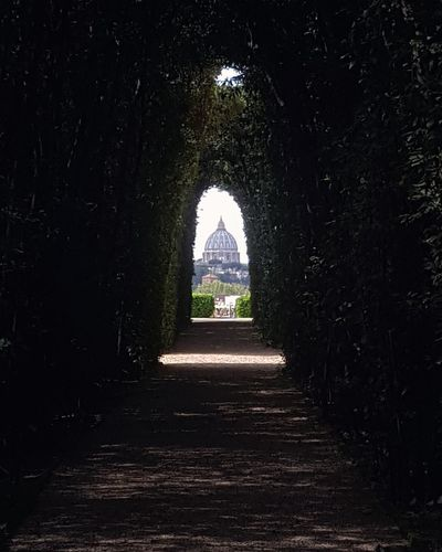 Roma Rome Italy Photography StPetersBasilica Stpeter Basilica Keyhole Keyholephoto Keyhole View Beautiful Artistic Light And Shadow Seetheworld  Travel Destinations Travel Photography History Arch Architecture Built Structure