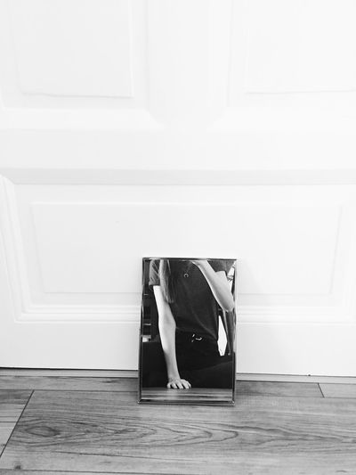 Headless Selfie Headless Selfie ♥ Blackandwhite Blackandwhite Hardwood Floor Indoors  Real People One Person Home Interior Day Full Length People