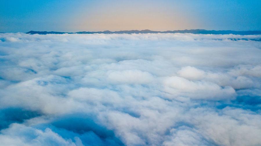 Sea of fog in