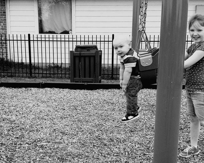 Children doing