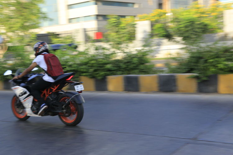 Motorcycle Speed Motion Blurred Motion Riding Sports Race Motorsport Transportation Crash Helmet Motocross Extreme Sports Mode Of Transport Motorcycle Racing Headwear One Person Real People Land Vehicle Ktmrc390 Bikelovers Adult Outdoors Day Sports Clothing Motorcycle Biker