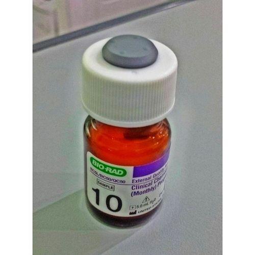 Let's do this! vial 10 na Clinchem Medtechlife Laboratory eqas