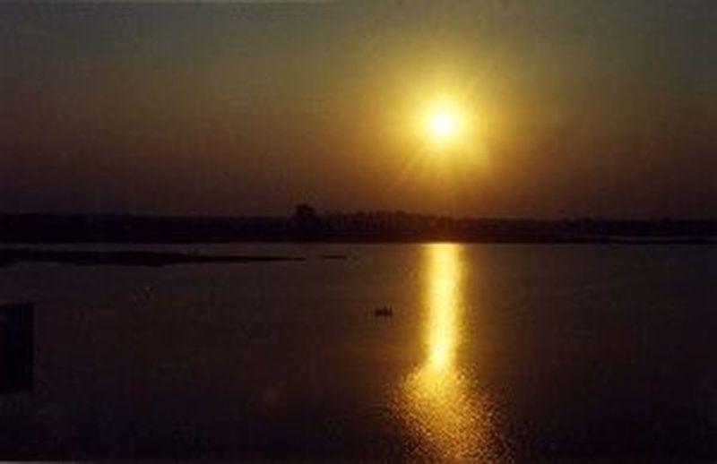 It is vrindavan gardens Sunset