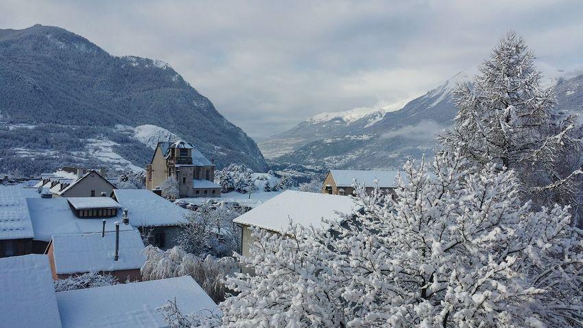 My Village Pavillon Des Officiers Alpes Neige❄ Vauban Sur Le Toit