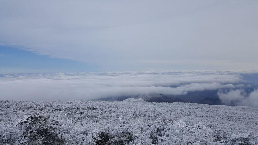 한라산 구름 Cloud