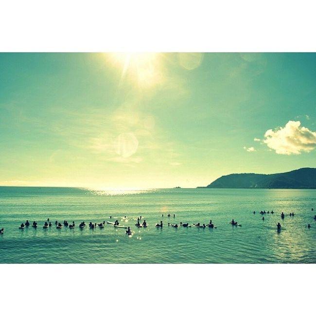 Sunny Sabang Beach. Good morning! :3 Sabangbeach Sunny Summer2014 Baler getaway weekendtrip sundaymorning sundays oceanview stoked surfsup wavesarecalling beachcombers