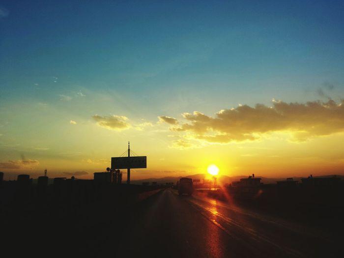 每当夕阳西沉的时候 Sunset First Eyeem Photo