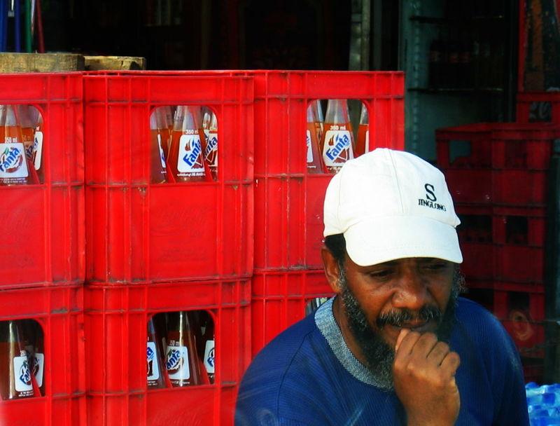2006 Adult Beard Day Fanta One Person Outdoors Portrait White Cap Zanzibar