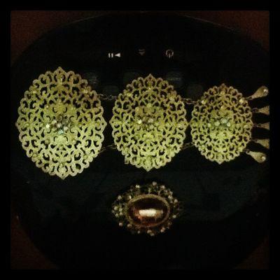 ~ my doko n brooch for raya tis year ;)