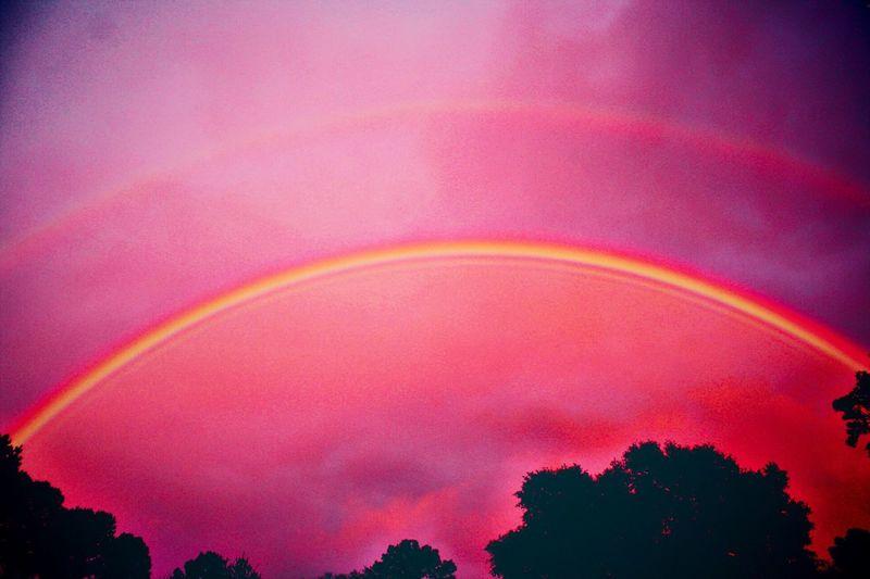 EyeEm Nature Lover Naturelovers Rainbow Sky Sky Rainbows Rainbowsunset Nature_collection