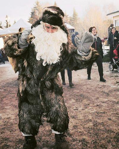 Santa Claus Cristmas Outdoors