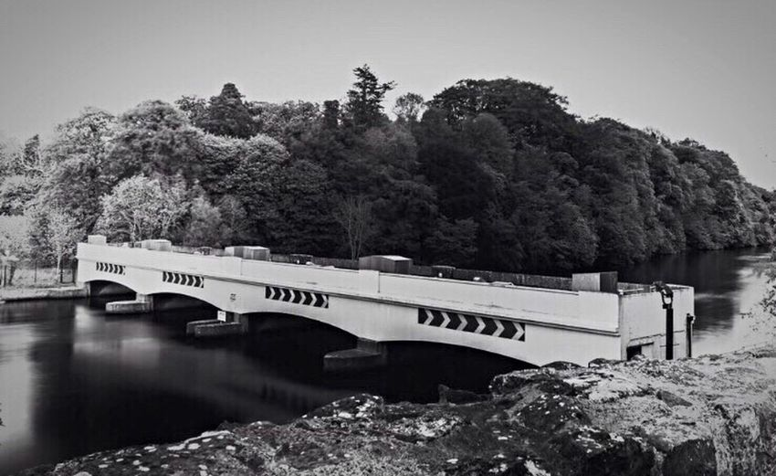 """""""Calm before the storm"""" Blackandwhite Bridge Lough Gate Showcase: February Taking Photos Check This Out Photooftheday From My Point Of View EyeEm Best Shots - Black + White Water Architecture_bw Black And White Collection"""