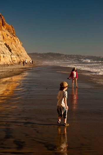 Been There. La Jolla, California San Diego Beach Beauty In Nature Full Length Men Nature Outdoors Real People Sand Scenics Sea Water