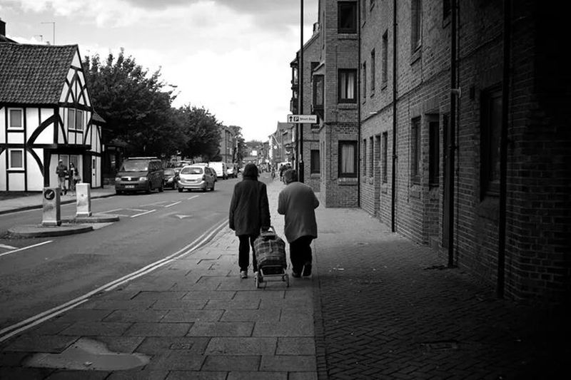 Urban Life Street Photography Black And White People