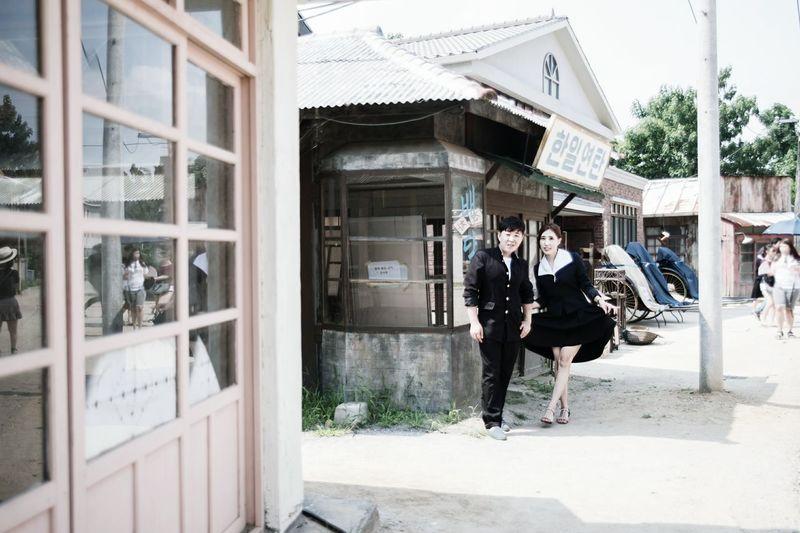 むかし セーラー服 교복 순천드라마촬영장