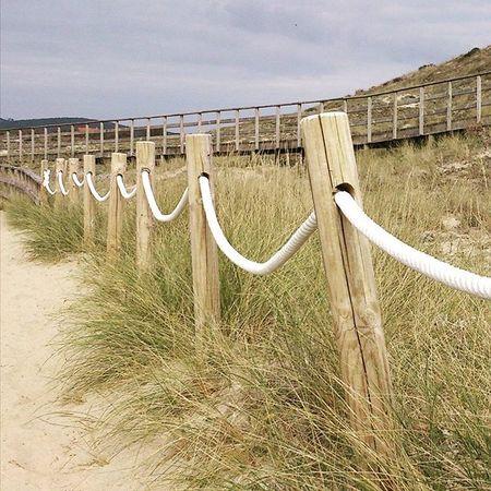 Path to the beach. TheGoodTimes Praiadafora Fisterra Galicia Galiza Praia Playa Travelgram Wanderlust Seetheworld  Traveleurope Seizetheday Beach Europe Autumn Senderismo SPAIN Explore