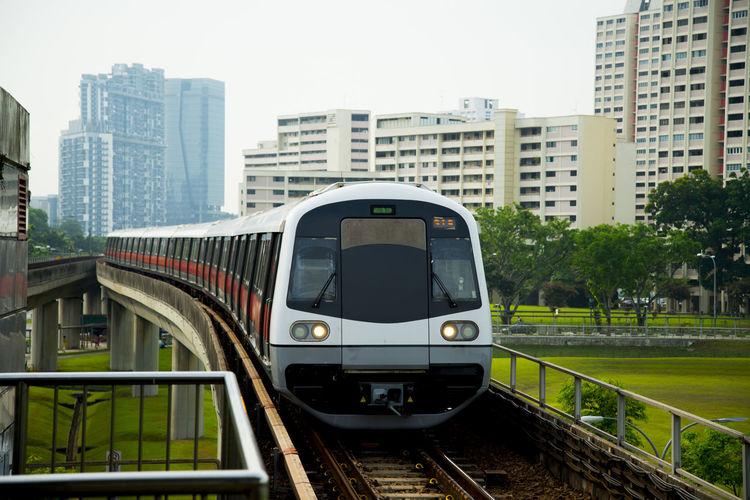 Public Metro Railway Singapore City SMRT Mrt Metro Railway
