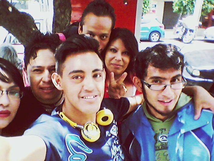 Con mis mejores amigos!!
