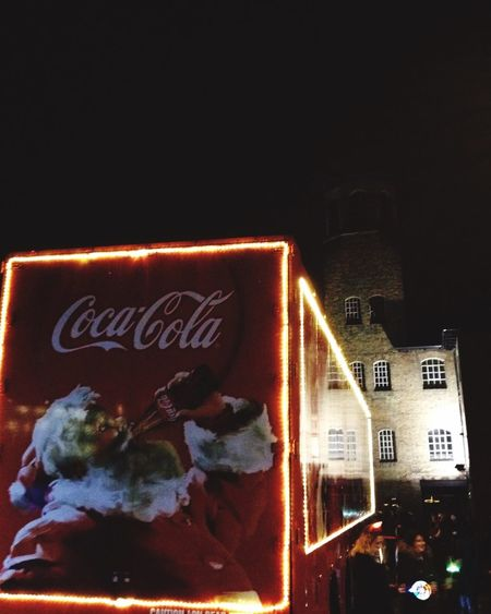 Holidays Are Coming! Coca Cola Truck Night Lights