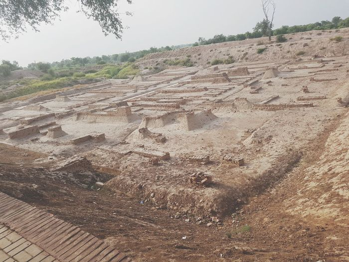 Landscape No People Outdoors 5000BC Harapa Historical Place Old History Amazing Day