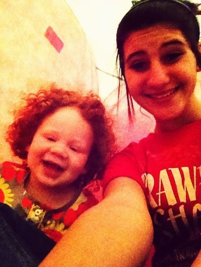 Me And My Baby Cousin <3