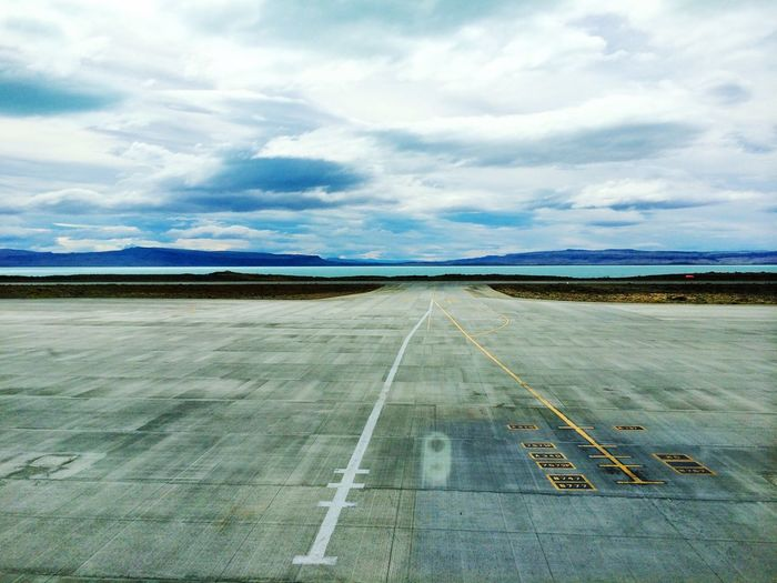 Airport Argentina Patagonia Endless Sky Iphone5s