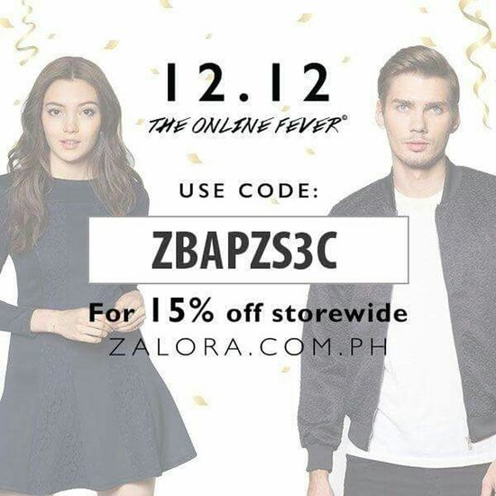 Hello World Check This Out Zalora ZaloraPH Zalorabasics FreshFromZalora Discount Xmasgift Code Onlineshop Onlineshopping shop a speacial gift for love ones and avail 15%Off from http://www.zalora.com.ph storewide share this discount code to your family & friend happy shopping!!!