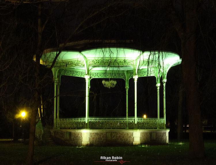 Kiosque vert Kiosque Vichy Park Vert
