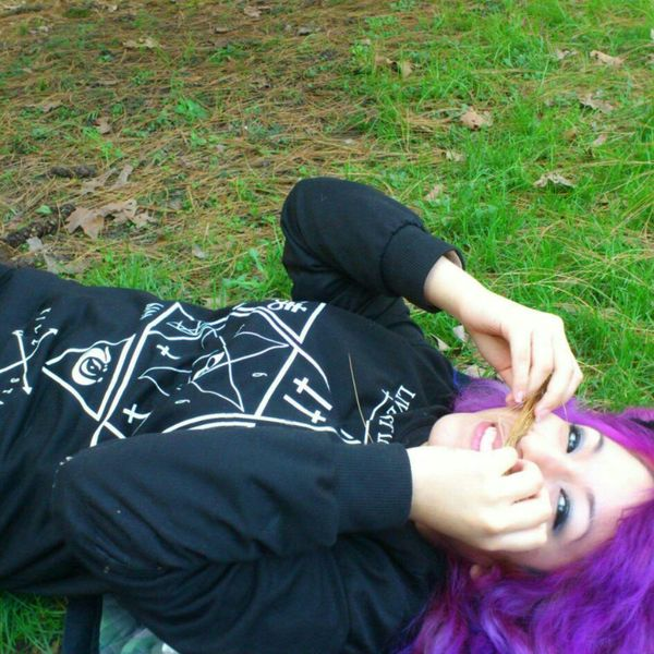 Want my purple hair back :( Hair I Miss My Hair  Died My Hair  Hair Style
