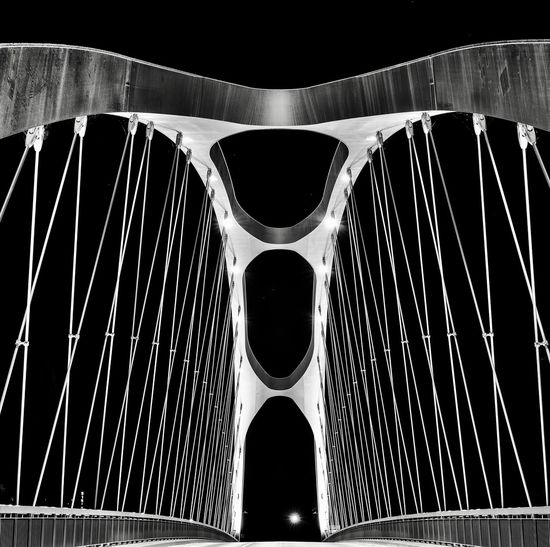 Passage Suspension Bridge Bridge Abstract No People Close-up Indoors  Pattern Water Low Angle View Black Background Fashion Built Structure Focus On Foreground City Travel Arch Still Life Shape