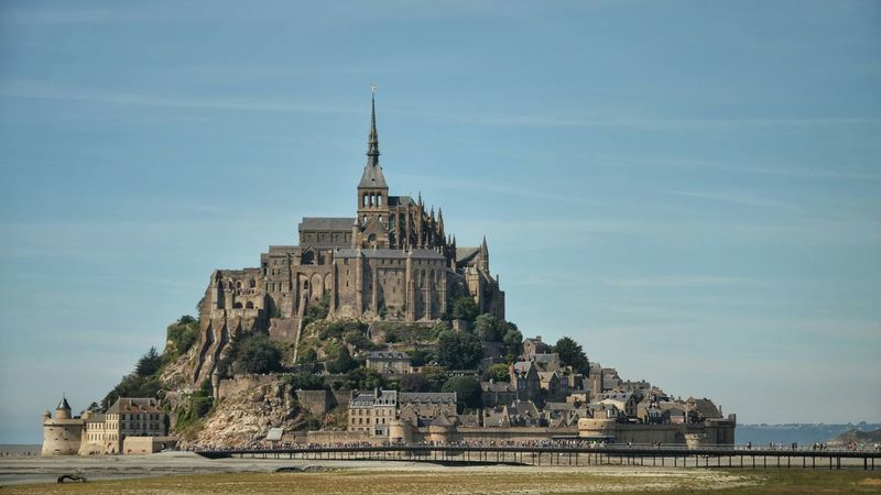 Scanaki Paysage Panorama From My Point Of View Nikon D5100  Landscapes Famous Place Check This Out Enjoying The View Summer Memories 🌄 Long Weekend Montsaintmichel Montsaintmichelabbey Normandie Placetovisit Monument Landschaft Frankreich フランス فرنسا франция Perspectives On Nature Travel Destinations Ancient Civilization Travel No People Architecture Sky Built Structure Outdoors The Traveler - 2018 EyeEm Awards The Great Outdoors - 2018 EyeEm Awards The Creative - 2018 EyeEm Awards The Still Life Photographer - 2018 EyeEm Awards