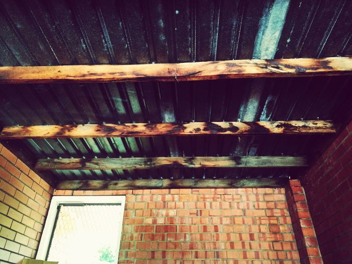 Low Angle View Architecture Wood - Material Built Structure Building Exterior No People Outdoors Day Full Frame