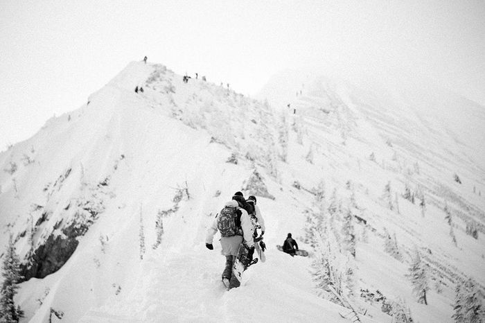 The Great Outdoors - 2015 EyeEm Awards photographed in Montana Snowboarding Snow ❄ Winter Hiking