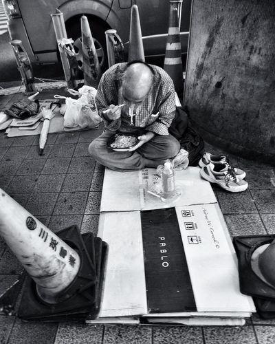 Homeless Streetphotography Blackandwhite A.W.C. Streetphotography