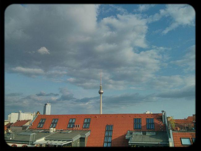 Daily HeartofBerlin Sommer Sonne Sonnenschein :P Fernsehturm