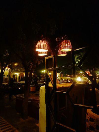 Illuminated Outdoors Choki Dhani Rajasthan_diaries