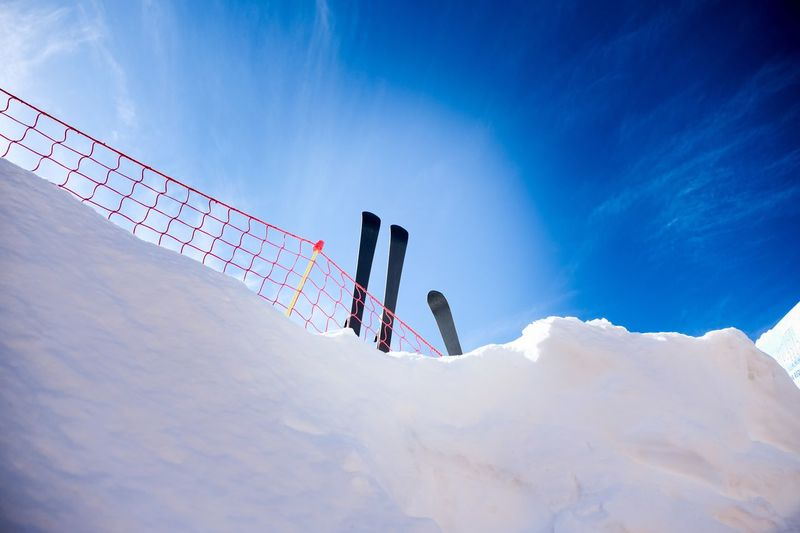Winter Time Snow Season Snow Cold Temperature Winter Sport Winter Sport Leisure Activity Mountain Adventure Nature Sky Lifestyles Mountain Range Cloud - Sky Skiing Sunlight Trip Day Holiday Vacations