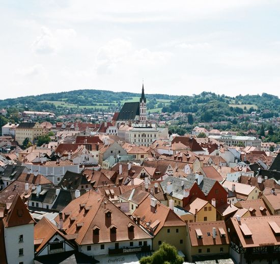Film Photography Travel Photography Travelmemories Kodak Kodak Portra 400 ELMARIT-M 28mm F2.8 Prague Czech Republic Oldtown Leicam4p Cityscape City Urban Skyline Politics And Government Roof Place Of Worship High Angle View Sky Architecture Building Exterior TOWNSCAPE Old Town Rooftop