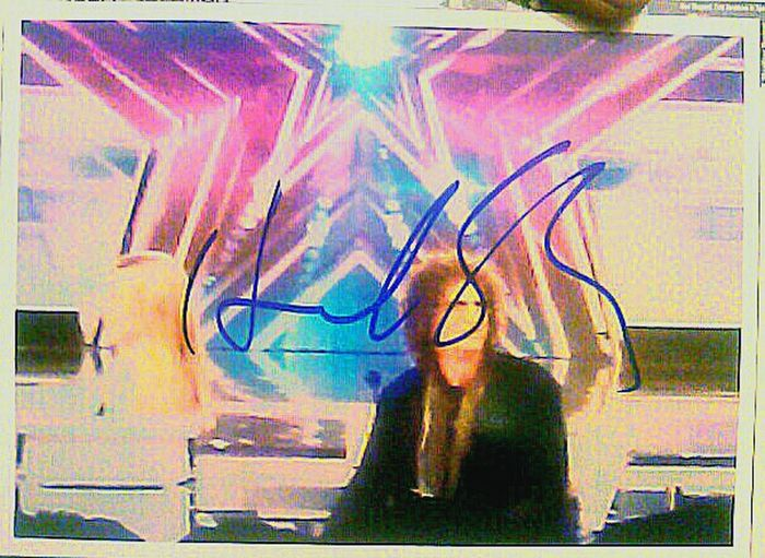 Another one of my Original Photos Signed and Approved of today. From last years Agt  Americas Got Talent  Americasgottalent Howard Stern Howardstern Autograph Autographed