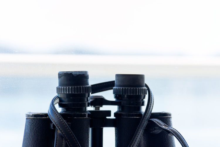 Close-up of binocular