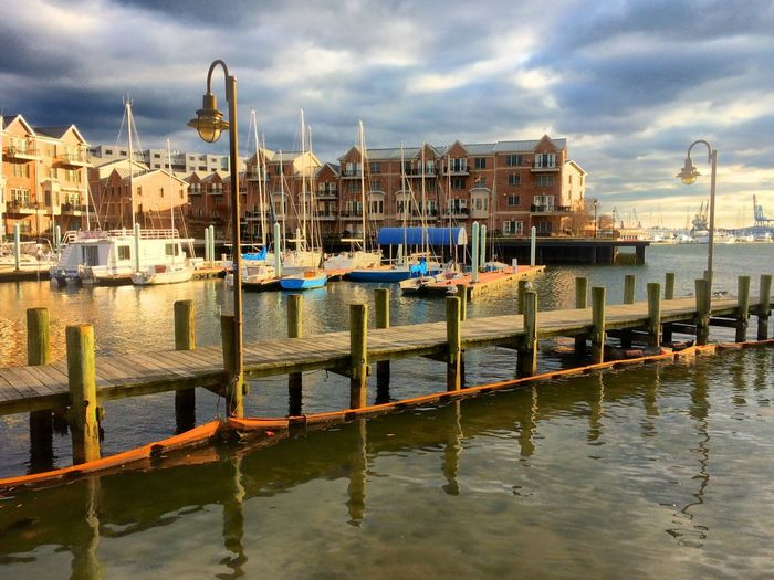 Water Baltimore Boats First Eyeem Photo