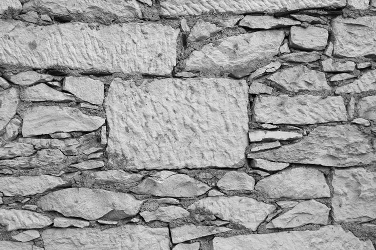 Eye4photography  EyeEm Best Shots EyeEm EyeEm Best Pics Close-up Bnw Blackandwhite Black And White Black & White Blackandwhite Photography Monochrome Backgrounds Abstract Full Frame Textured  Rough Stone Wall Pattern Outdoors Pattern, Texture, Shape And Form Pattern Pieces Minimalism Minimalobsession Minimalist