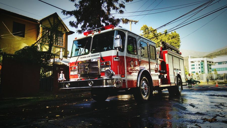 Fire Firetruck Ñuñoa Chile LaReina Bomberos BomberosDeChile
