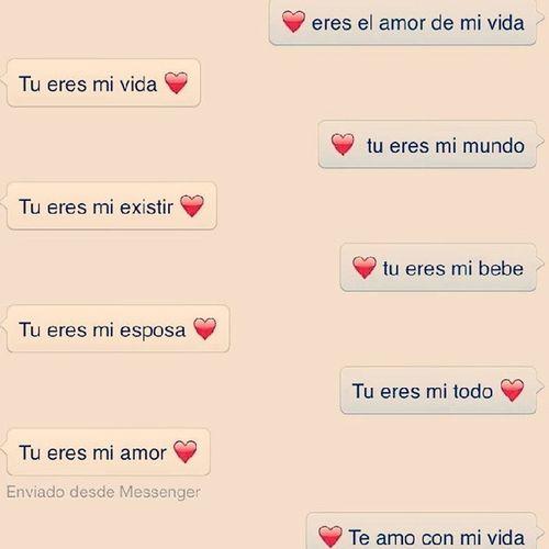 """Una_Hermosa_Conversación_Con_Lo_Más_Importante_De_Mi_Vida_Eres_Tu_Mi_Princesita """" :3"""