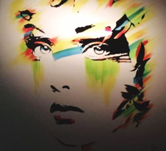 Art Cuadro Arte Colors Colorful Portrait Yellow Hanging Out Love
