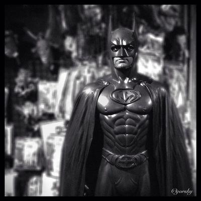 Hipstamatic Batman Manhattan NYC