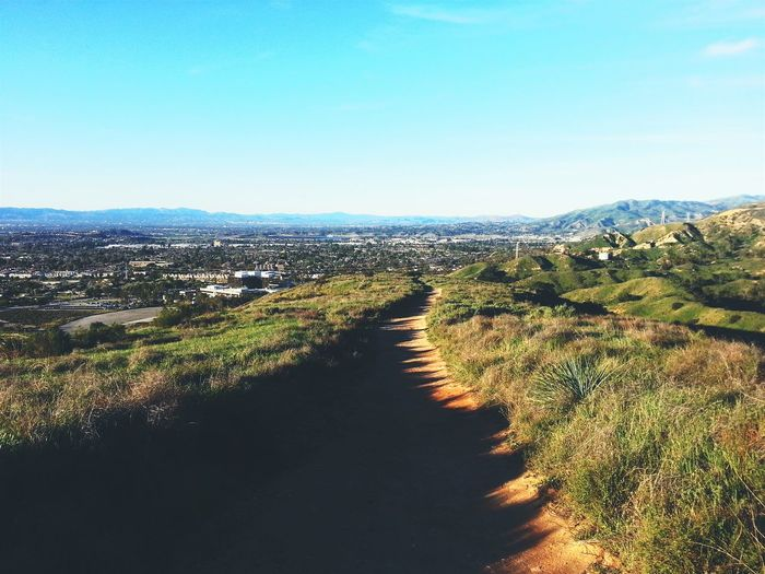 I was so out of breath going up here Hiking Trail Sylmar San Fernando Valley The Road Less Traveled Urbandesert On A Stroll Walk This Way